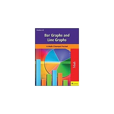 Milliken Publishing Bar Graphs and Line Graphs Math Workbook, Grade 6 - Grade 8 [eBook]