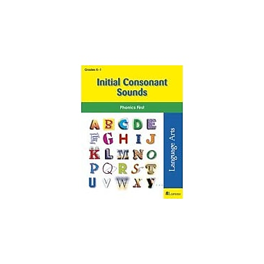 Milliken Publishing Initial Consonant Sounds Language Arts Workbook, Kindergarten - Grade 1 [eBook]