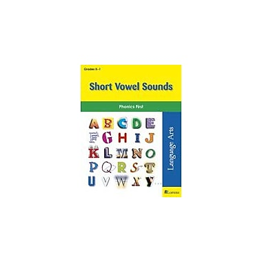 Milliken Publishing Short Vowel Sounds Language Arts Workbook, Kindergarten - Grade 1 [eBook]