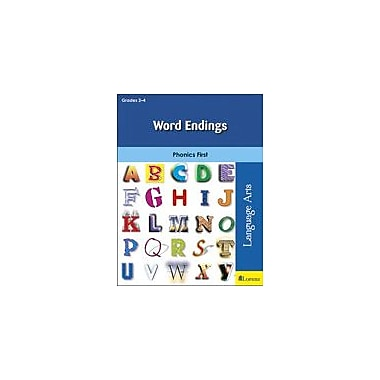 Milliken Publishing Word Endings Language Arts Workbook, Grade 2 - Grade 4 [eBook]