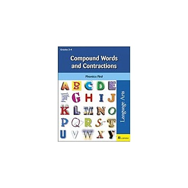 Milliken Publishing Compound Words and Contractions Language Arts Workbook, Grade 2 - Grade 4 [eBook]