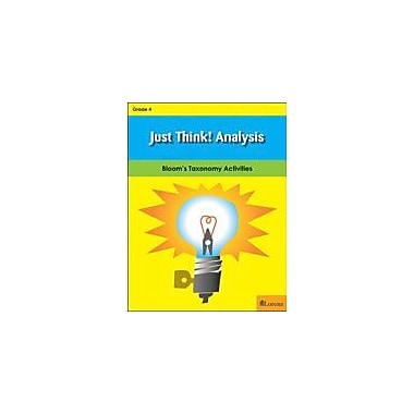 Milliken Publishing Just Think! Analysis, Gr 4 Problem Solving Workbook, Grade 4 [eBook]