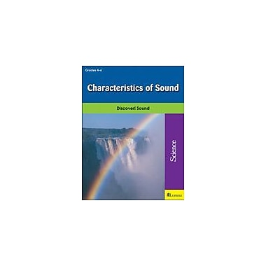Milliken Publishing Characteristics of Sound Science Workbook, Grade 4 - Grade 6 [eBook]