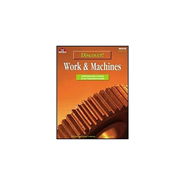 Milliken Publishing Discover! Work & Machines Science Workbook, Grade 4 - Grade 6 [eBook]