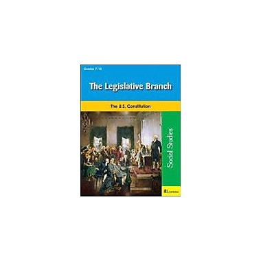 Milliken Publishing The Legislative Branch Social Studies Workbook, Grade 7 - Grade 12 [eBook]