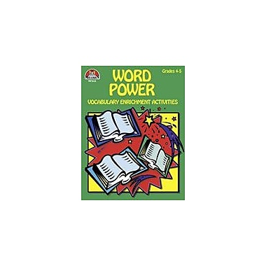 Milliken Publishing Word Power Grs 4-5 Language Arts Workbook, Grade 4 - Grade 5 [Enhanced eBook]