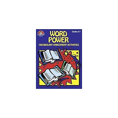 Milliken Publishing Word Power Grs 6-7 Language Arts Workbook, Grade 6 - Grade 7 [Enhanced eBook]