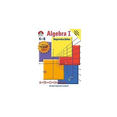 Milliken Publishing Algebra I Math Workbook, Grade 6 - Grade 8 [Enhanced eBook]