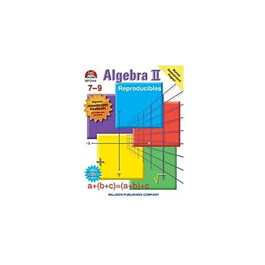 Milliken Publishing Algebra II Math Workbook, Grade 7 - Grade 9 [eBook]