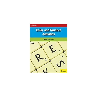 Milliken Publishing Color and Number Activities Puzzles Workbook, Kindergarten - Grade 1 [eBook]