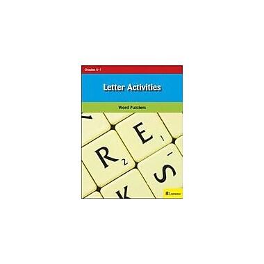 Milliken Publishing Letter Activities Puzzles Workbook, Kindergarten - Grade 1 [eBook]