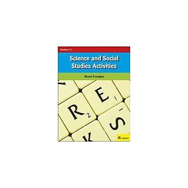 Milliken Publishing Science and Social Studies Activities Puzzles Workbook, Kindergarten - Grade 1 [eBook]