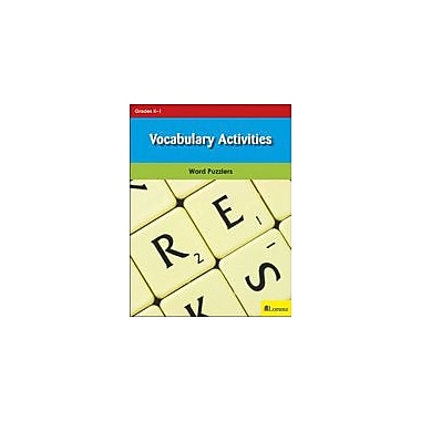 Milliken Publishing Vocabulary Activities Puzzles Workbook, Kindergarten - Grade 1 [eBook]