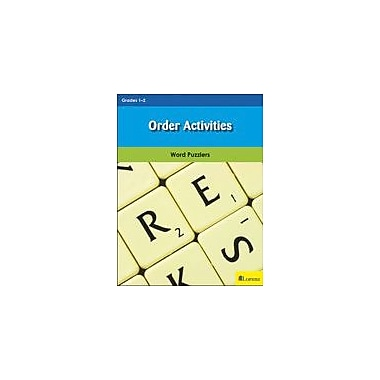 Milliken Publishing Order Activities Reading & Writing Workbook, Grade 1 - Grade 2 [eBook]