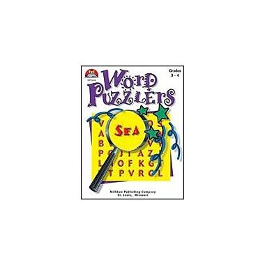 Milliken Publishing Word Puzzlers-4 Language Arts Workbook, Grade 3 - Grade 4 [eBook]
