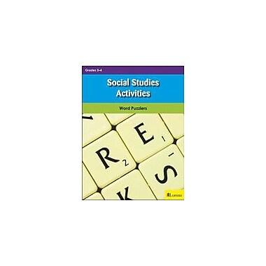 Milliken Publishing Social Studies Activities Puzzles Workbook, Grade 3 - Grade 4 [eBook]