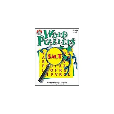 Milliken Publishing Word Puzzlers-5 Language Arts Workbook, Grade 4 - Grade 5 [Enhanced eBook]