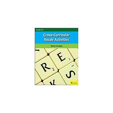 Milliken Publishing Cross-Curricular Vocab Activities Puzzles Workbook, Grade 4 - Grade 5 [eBook]