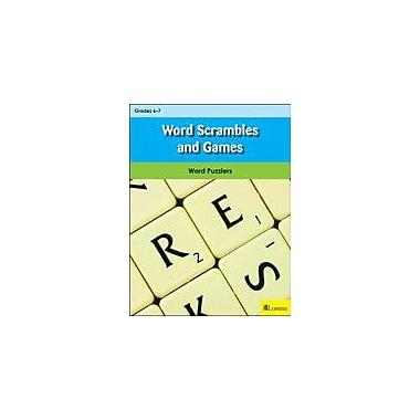 Milliken Publishing Word Scrambles and Games Puzzles Workbook, Grade 6 - Grade 7 [eBook]