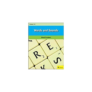 Milliken Publishing Words and Sounds Puzzles Workbook, Grade 7 - Grade 8 [eBook]