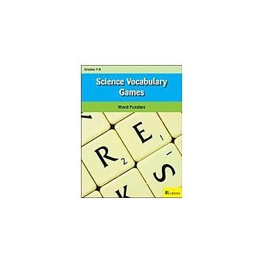 Milliken Publishing Science Vocabulary Games Puzzles Workbook, Grade 7 - Grade 8 [eBook]