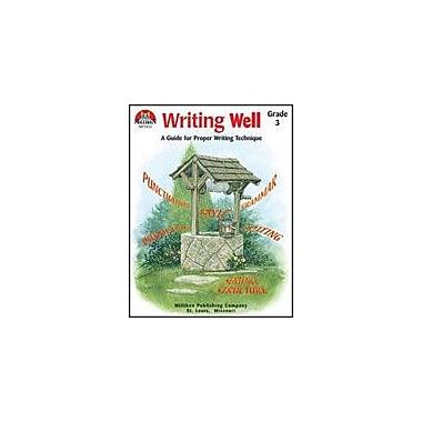 Milliken Publishing Writing Well Grade 3 Language Arts Workbook, Grade 3 [Enhanced eBook]