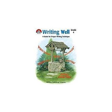 Milliken Publishing Writing Well Grade 4 Language Arts Workbook, Grade 4 [Enhanced eBook]
