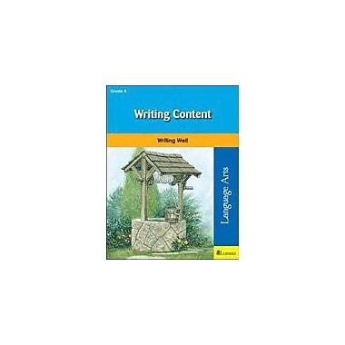 Milliken Publishing Writing Content Grammar Workbook, Grade 4 [eBook]