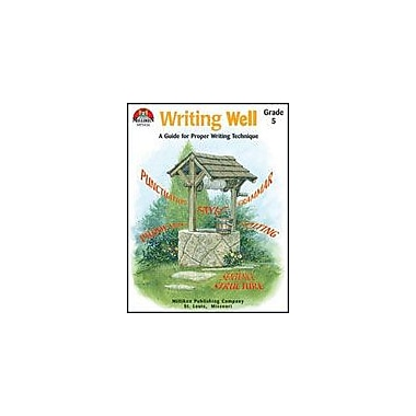 Milliken Publishing Writing Well Grade 5 Language Arts Workbook, Grade 5 [eBook]