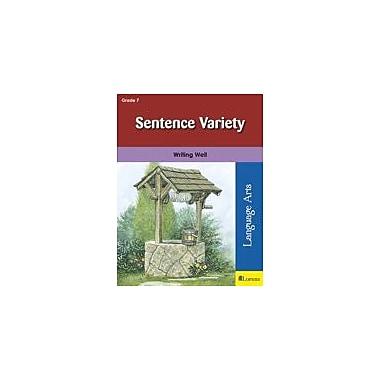 Milliken Publishing Sentence Variety Language Arts Workbook, Grade 7 [eBook]