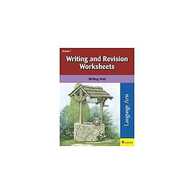 Milliken Publishing Writing and Revision Worksheets Language Arts Workbook, Grade 7 [eBook]
