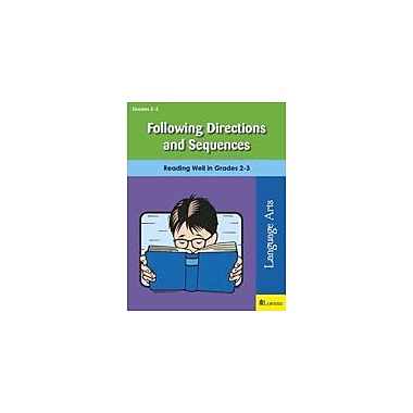 Milliken Publishing Following Directions and Sequences Reading & Writing Workbook, Grade 2 - Grade 3 [eBook]