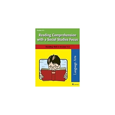 Milliken Publishing Reading Comprehension With A Social Studies Focus Reading & Writing Workbook, Grade 4 - Grade 5 [eBook]