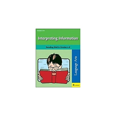 Milliken Publishing Interpreting Information Reading & Writing Workbook, Grade 6 - Grade 8 [eBook]