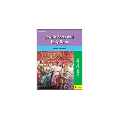 Milliken Publishing Jewish Sects and Holy Days Other Workbook, Grade 5 - Grade 8 [eBook]