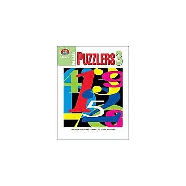 Milliken Publishing Math Puzzlers Grade 3 Math Workbook, Grade 3 [eBook]