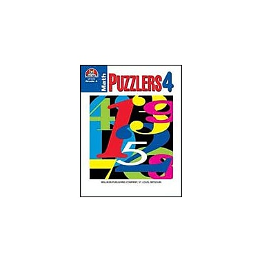 Milliken Publishing Math Puzzlers Grade 4 Math Workbook, Grade 4 [eBook]