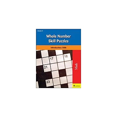 Milliken Publishing Whole Number Skill Puzzles: Introductory Skills Math Workbook, Grade 4 [eBook]