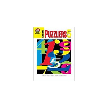 Milliken Publishing Math Puzzlers Grade 5 Math Workbook, Grade 5 [Enhanced eBook]