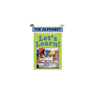Milliken Publishing Let's Learn! the Alphabet Language Arts Workbook, Preschool - Grade 1 [eBook]