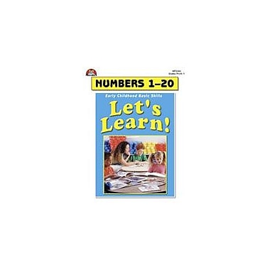 Milliken Publishing Let's Learn! Numbers 1-20 Math Workbook, Preschool - Grade 1 [eBook]