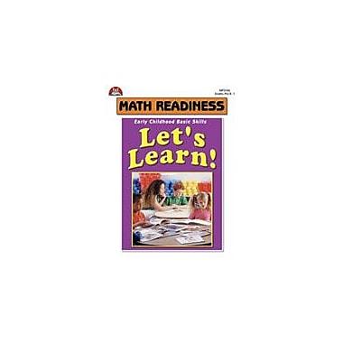 Milliken Publishing Let's Learn! Math Readiness Activities Math Workbook, Preschool - Grade 1 [Enhanced eBook]