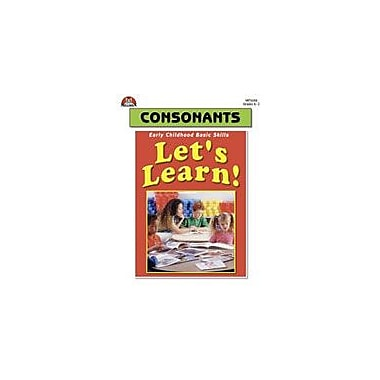 Milliken Publishing Let's Learn! Consonants Language Arts Workbook, Kindergarten - Grade 2 [Enhanced eBook]