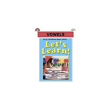 Milliken Publishing Let's Learn! Vowels Language Arts Workbook, Kindergarten - Grade 2 [eBook]