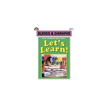 Milliken Publishing Let's Learn! Blends and Digraphs Language Arts Workbook, Kindergarten - Grade 2 [eBook]