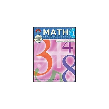 Milliken Publishing Math Reproducibles Math Workbook, Grade 1 [Enhanced eBook]