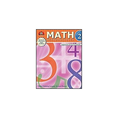 Milliken Publishing Math Reproducibles Math Workbook, Grade 2 [Enhanced eBook]
