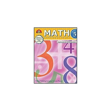 Milliken Publishing Math Reproducibles Math Workbook, Grade 5 [Enhanced eBook]