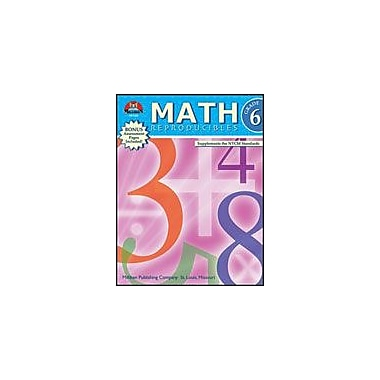 Milliken Publishing Math Reproducibles Math Workbook, Grade 6 [eBook]