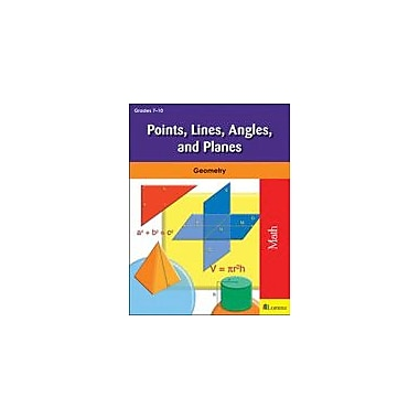 Milliken Publishing Points, Lines, Angles, and Planes Math Workbook, Grade 7 - Grade 10 [eBook]